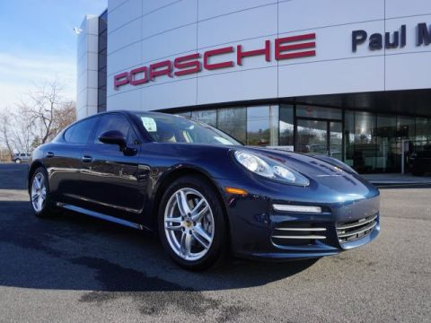 Pre-Owned 2015 Porsche Panamera  With Navigation & AWD