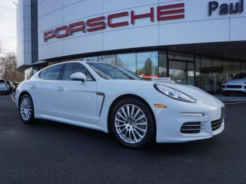 Pre-Owned 2014 Porsche Panamera  With Navigation & AWD