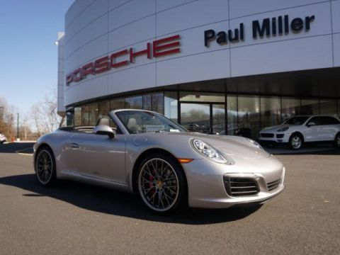 New 2017 Porsche 911 Carrera S RWD Convertible