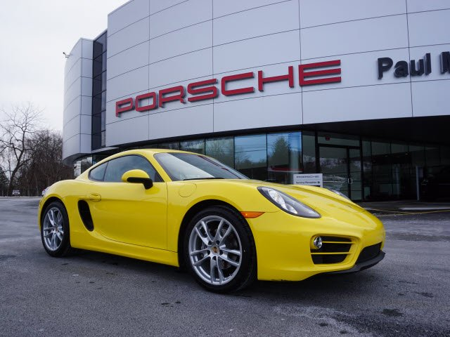 Certified Pre-Owned 2014 Porsche Cayman